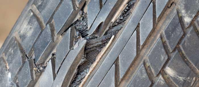 Tyre Damage